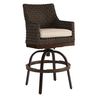 A.R.T. Furniture Epicenters Outdoor - Franklin Wicker Bar Stool