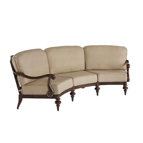A.R.T. Furniture Arch Salvage Outdoor - Cannes Sectional-Left Arm Facing/Right Arm Facing Sofa w/ Armless