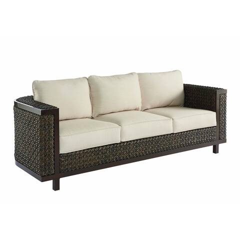 A.R.T. Furniture Epicenters Outdoor - Brentwood Wicker Sofa