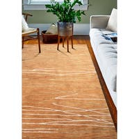 "Sydney Spice Contemporary 8'6"" X 11'6"" Area Rug - 8'6"" x 11'6"""