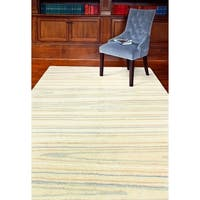 """Alison Ivory Contemporary  Area Rug - 8'6"""" x 11'6"""""""
