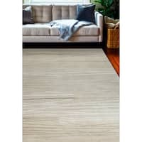 "Sydney Ivory Contemporary  Area Rug - 5'6"" x 8'6"""