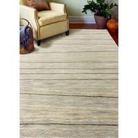 """Alison Taupe Contemporary  Area Rug - 5'6"""" x 8'6"""""""
