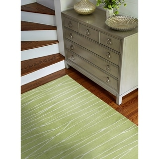 "Sydney Guacamole Contemporary  Area Rug - 5'6"" x 8'6"""