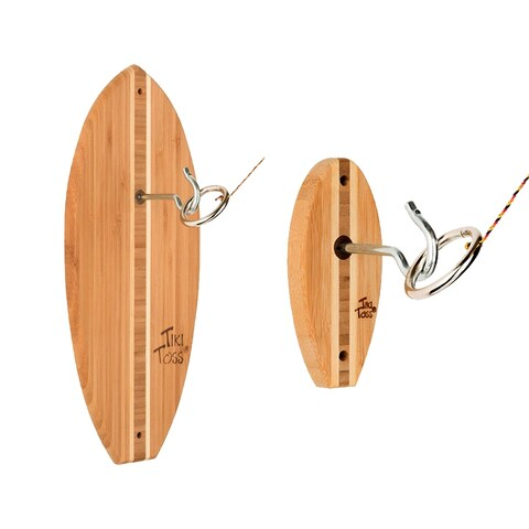 Tiki Toss Surf Edition and Shortboard Hook & Ring Game Set