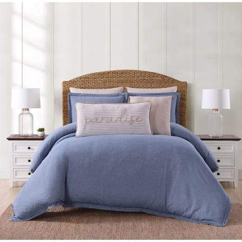 Oceanfront Resort Chambray Coast 3-piece Comforter Set