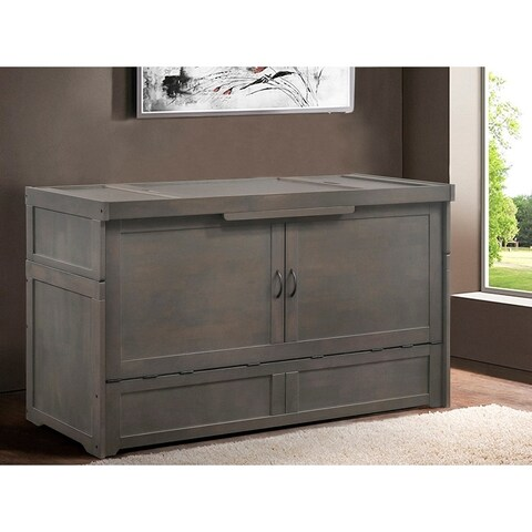 Connie Murphy Cabinet Bed With Queen Mattress