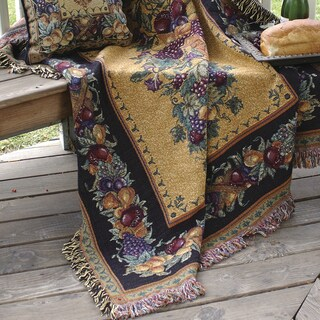 Manual Woodworkers Old World Italy Tapestry Throw