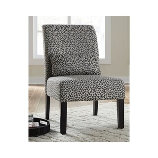 Signature Design by Ashley Sesto Gray/Ivory Cheetah Accent Chair
