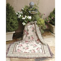 Manual Woodworkers Warm Embrace Woven Tapestry Throw