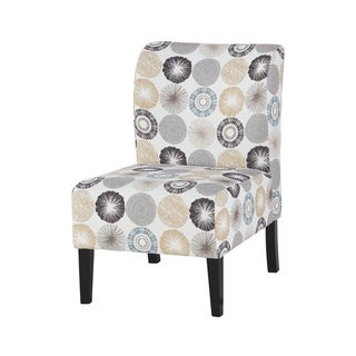 Triptis Casual Gray/Tan Accent Chair