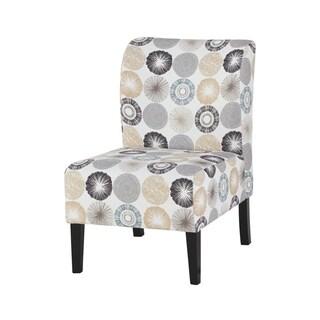Triptis Casual Gray/Tan Accent Chair