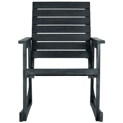 Safavieh Alexei Dark Slate Acacia Rocking Chair