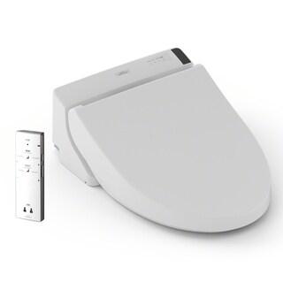 TOTO® Washlet® A200 Elongated Bidet Toilet Seat, Cotton White - SW2024#01