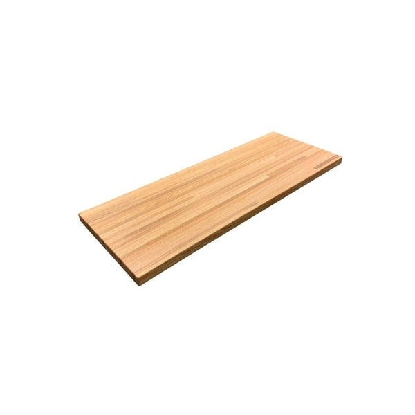 """Forever Joint Red Oak 1-1/2"""" x 26"""" x 60"""" Butcher Block Wood Countertop - N/A. Opens flyout."""
