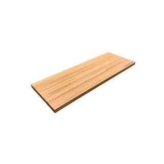 "Forever Joint Red Oak 1-1/2"" x 26"" x 60"" Butcher Block Wood Countertop"