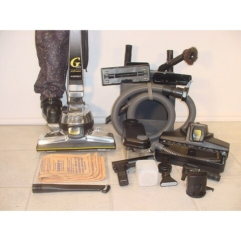 Reconditioned Kirby Gsix G6 Vacuum Cleaner Loaded w tools bags shampooer