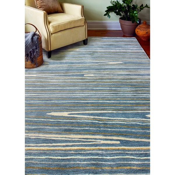 Alison Contemporary Hand Tufted Area Rug. Opens flyout.
