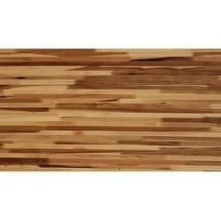 "Forever Joint Hickory 1-1/2"" X 36"" x 60"" Butcher Block Wood Island Top"