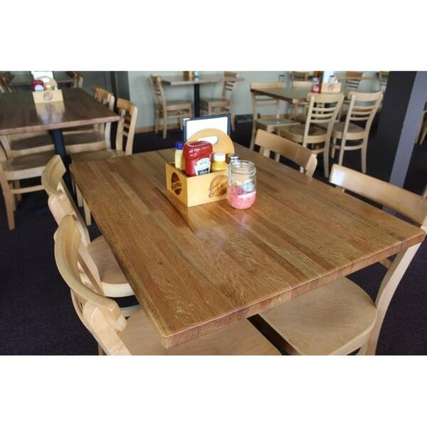 Shop Forever Joint Red Oak 1 1 2 X 36 X 60 Butcher Block Kitchen Island Top Overstock 20526265