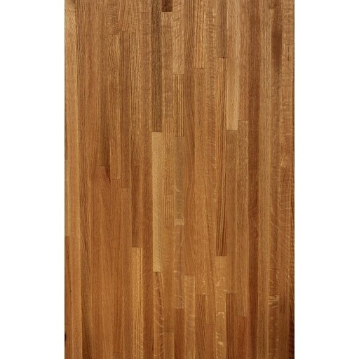 Forever Joint Red Oak 1 4 X 96 Butcher Block Wood Backsplash Free Shipping Today 20526367