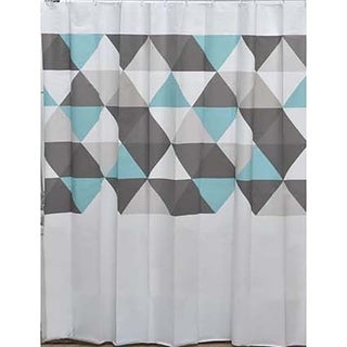 Evideco Nordik Collection Printed Peva Liner Shower Curtain Plastic 71x71 Inch