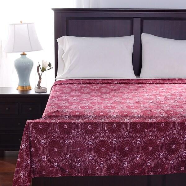 Berkshire Blanket Flower Mandala Blanket