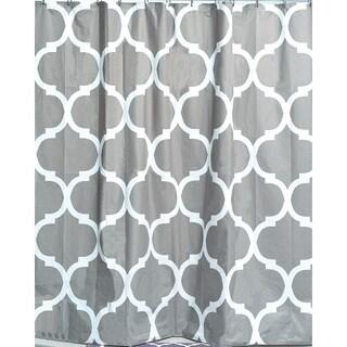 Evideco Printed Peva Liner Shower Curtain Design Escal