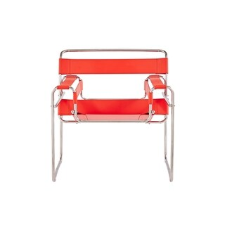 Global Furniture Strap Style Red Chair