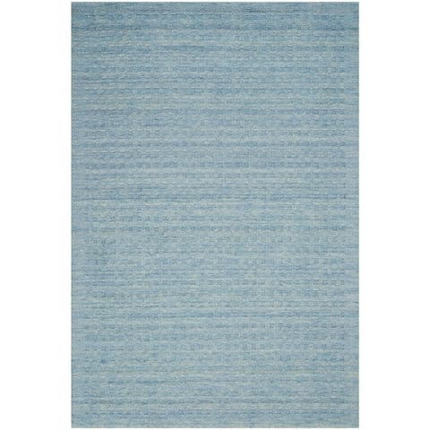 Nourison Perris Solid Hand Woven Area Rug