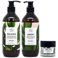 AG Hair Natural Shampoo + Conditioner + Dry Lift Hair Care Set