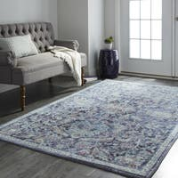 Copper Grove Chetra Floral Vintage Area Rug - 5' x 8'