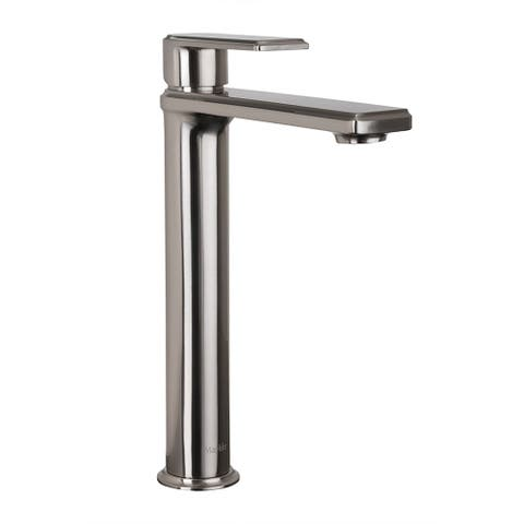 Maykke Arminius Tall Single Lever Faucet, Brushed Nickel