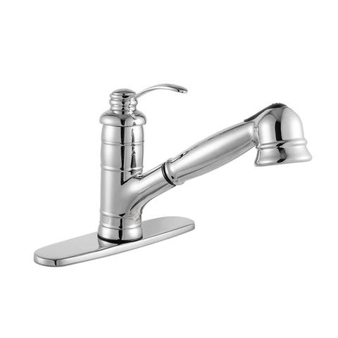 Maykke Shelton Single-Handle Pull-Out Sprayer Kitchen Faucet