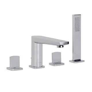 Maykke Adalbert Deck-Mount Bathtub Faucet with Hand Shower (3 options available)