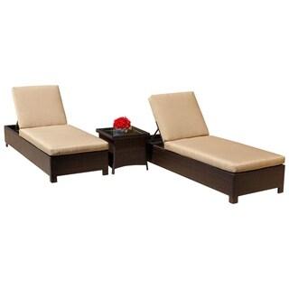 Abbyson Montecito Outdoor Chaise Lounge
