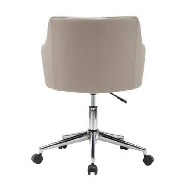 Shop Urban Designs Beige Comfy And Classy Home Office Chair Free Shipping Today Overstock 20527183