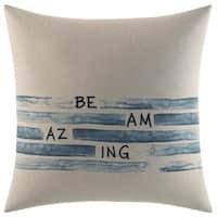Ellen DeGeneres Nomad Be Amazing Throw Pillow
