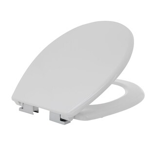 Maykke Kirkton Round Toilet Seat in White with Soft Close Hinges