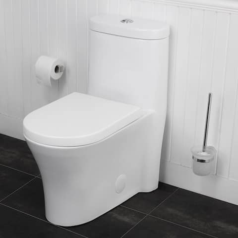 Maykke Morar One-Piece Toilet with Seat