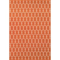 Clay Alder Home Balthazar Trellis Orange Indoor/ Outdoor Area Rug - 8'6 x 13'