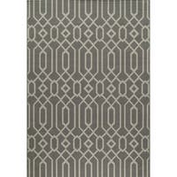 Clay Alder Home Honomuni Grey Indoor/ Outdoor Area Rug - 8'6 x 13'