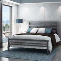 Carbon Loft Olga 60-inch Highway Queen Size Metal Bed