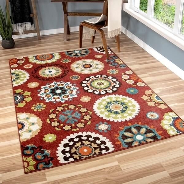 Clay Alder Home Hemlock Indoor/ Outdoor Multi Area Rug - 3'10 x 5'5