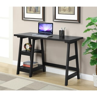 Porch & Den Logan Wood Desk