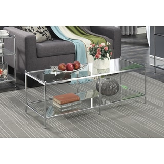 Link to Silver Orchid Price Glass Coffee Table Similar Items in Living Room Furniture