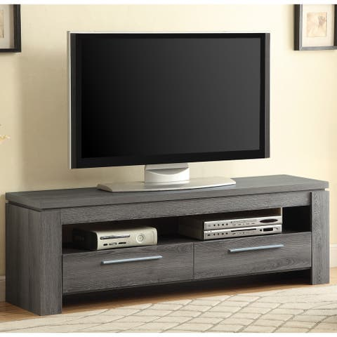 """Porch & Den Lincoln Hwy TV Console with Drawers - 59"""" x 15.50"""" x 19.75"""""""