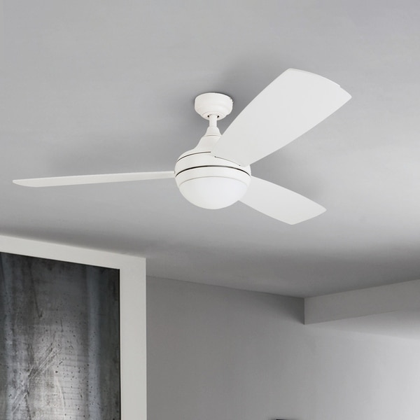 Porch & Den Nebeker 52-inch LED Ceiling Fan with Remote Control. Opens flyout.