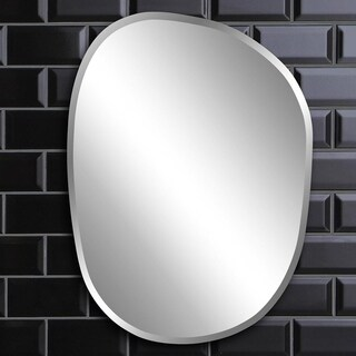 Clay Alder Home Tilikum Asymmetrical Frameless Mirror