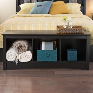 Wood Cubby Storage Bench